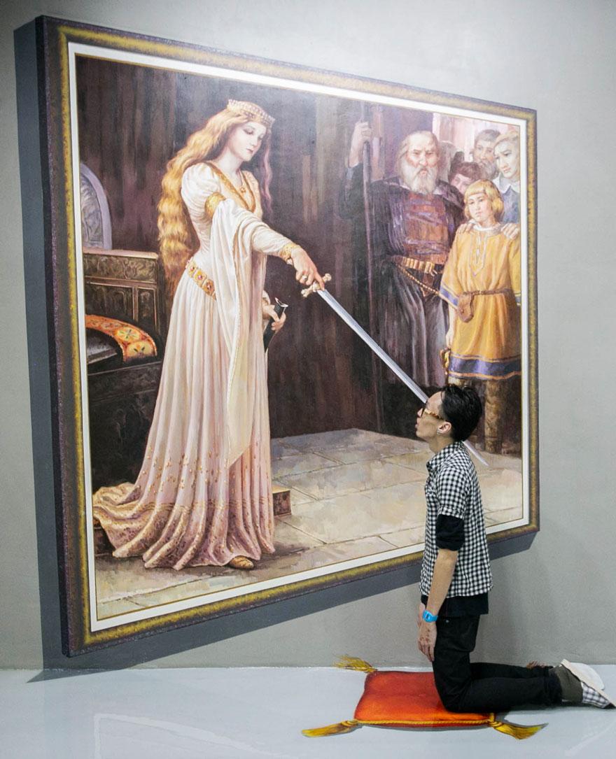 D Art Exhibition Jbr : 這些是菲律賓 d藝術館畫作,比起香港好太多了吧! qooah