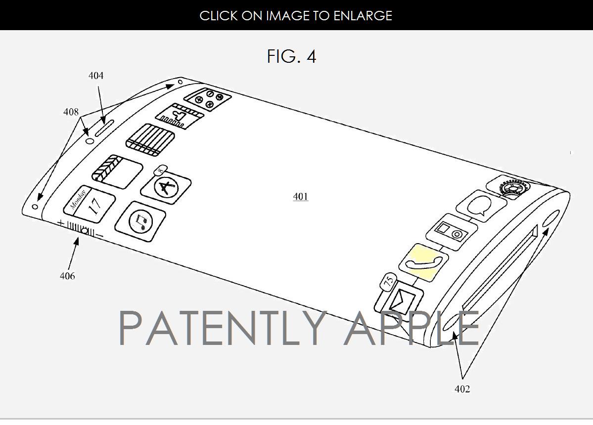 Apple已獲得曲屏專利,難道下一代iPhone也要做成曲屏的了?