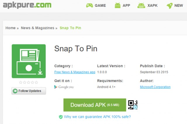 apkpure 可从 google play 下载全球不同市场的 apk 安装档