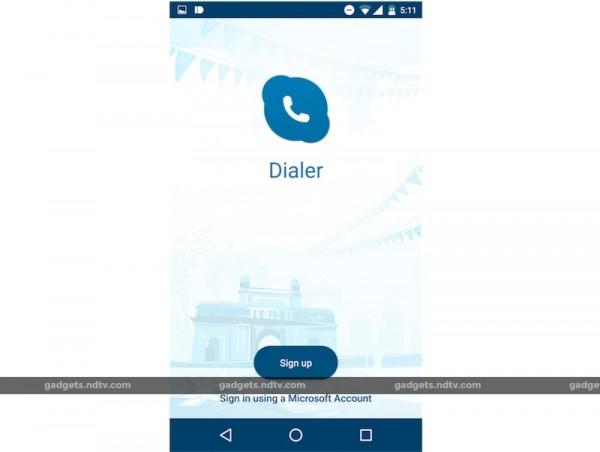 Skype-Dialer