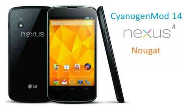 google-nexus-4-cm14-nougat